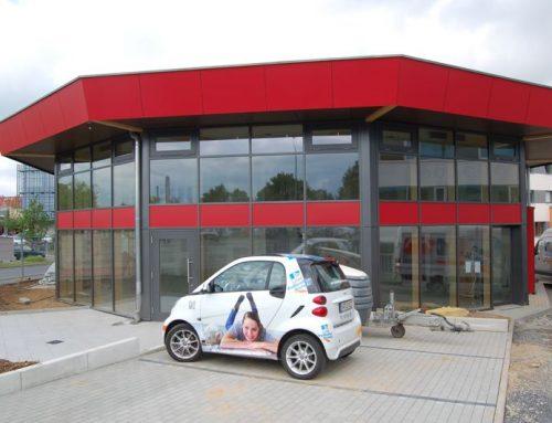 Neubau Pappert Filiale in Schweinfurt